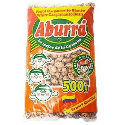 Frijol cargamanto blanco Aburra 500 gr