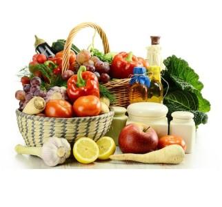 Alimentos orgánicos para cuidar su salud.