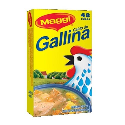 Caldo de gallina Maggi 24 gr x 48 unid