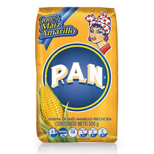 Harina PAN Amarilla 500 gr