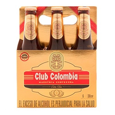 Cerveza Club Colombia x 6